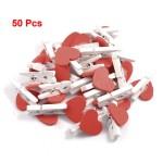 heart clothespins