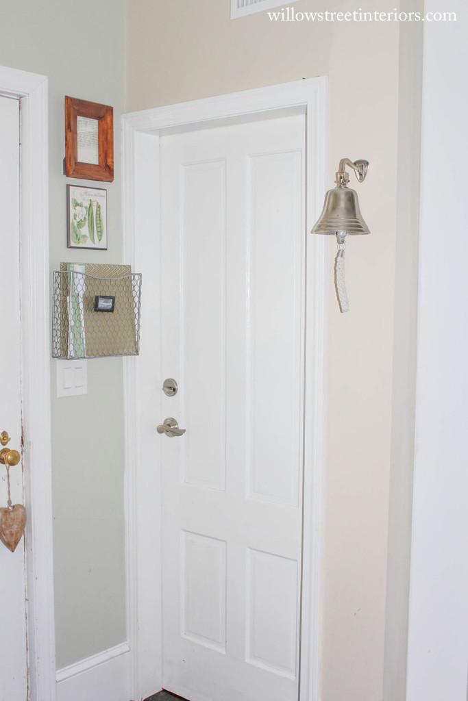 Basement Door Before