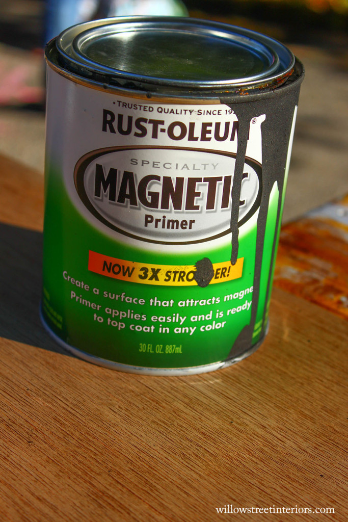 How To Use Magnetic Primer Paint