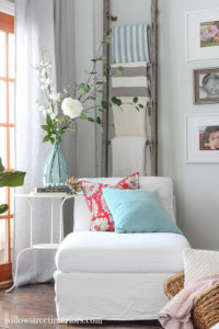 cozy spring corner