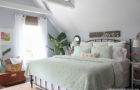 bare to beautiful bedroom makeover