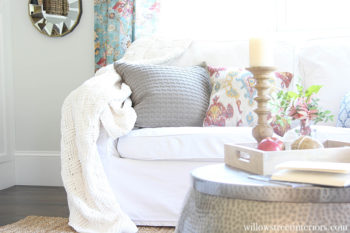 A Fall Home Tour {And Simple Ideas to Cozy Up Your Space}