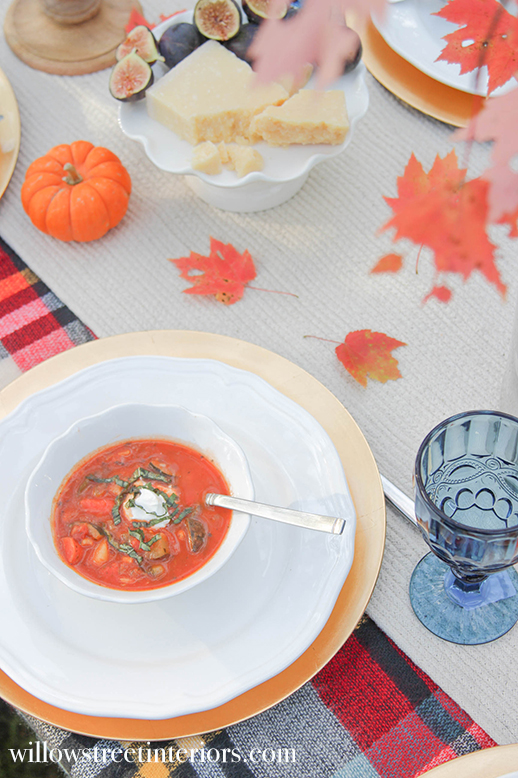 autumn veggie soup recipe