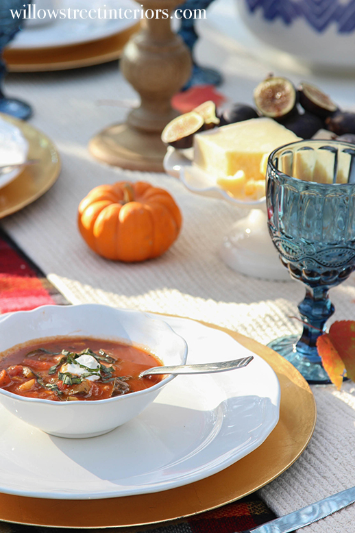 fall veggie soup