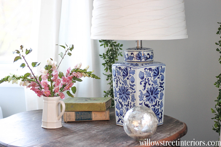 how to make a ginger jar lamp