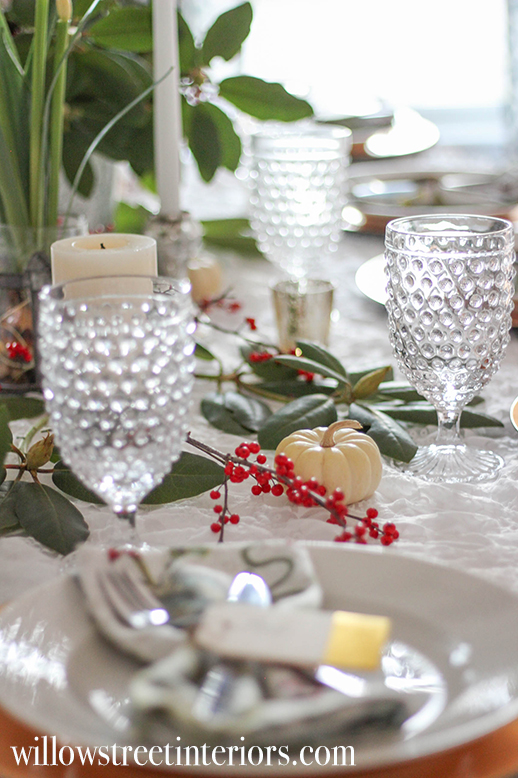 last minute thanksgiving tablescape ideas