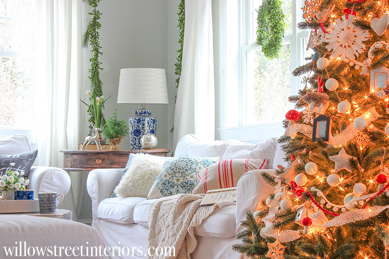 homespun cozy christmas tour from willow street interiors