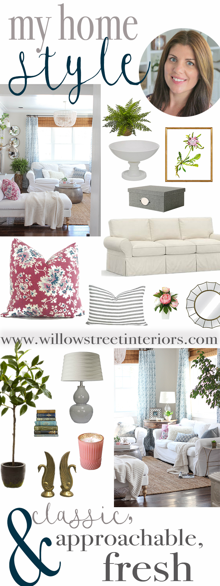 My Home Style Mix, Match, Coordinate | Willow Street Interiors