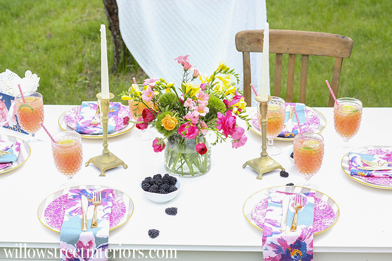 mother's day tablescape 2017