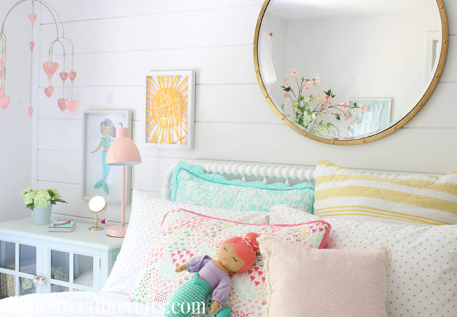 A Sunny Girl's Bedroom Reveal
