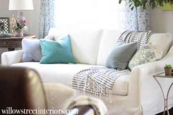 IKEA Farlov Slipcovered Sofa Review {And Washing Tips}