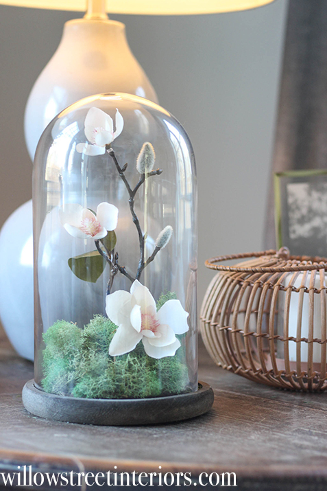 cloche decorating idea