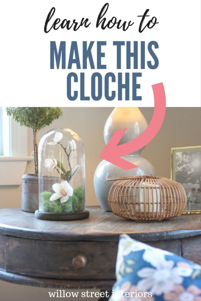learn how to make this pretty cloche