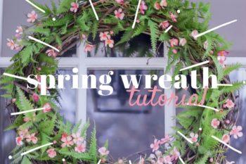 A Spring Wreath {Seasonal Simplicity Series}