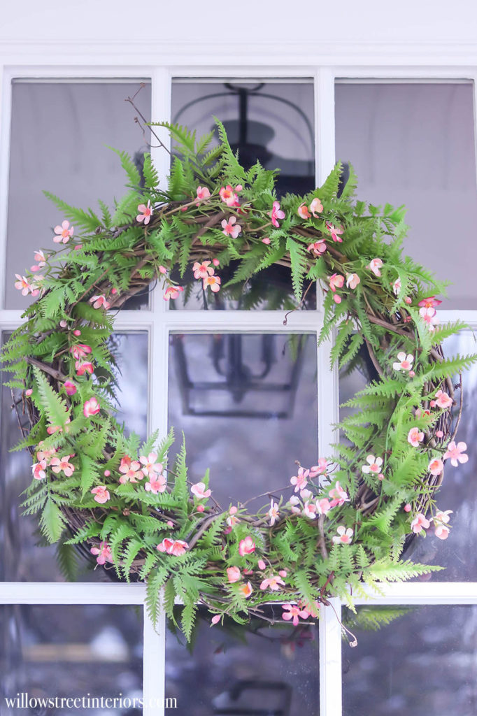 spring wreath idea