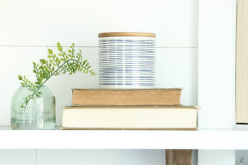 A Mantel Idea for Spring {Seasonal Simplicity Series}