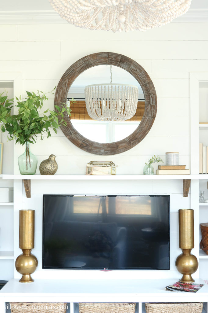 spring mantel idea