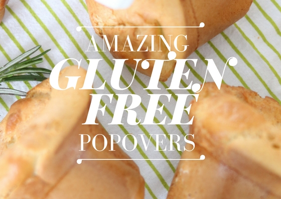 Amazing Gluten Free Popovers {And More Snow!}