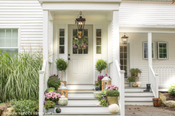 Fall Decorating {Our Front Porch}