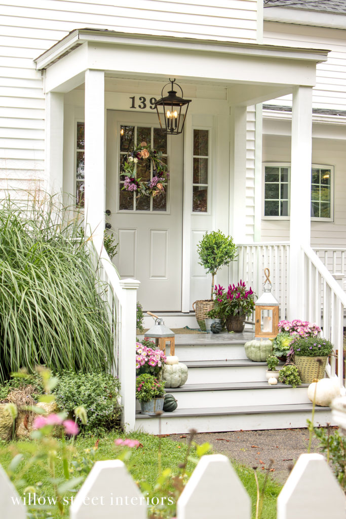 Fall Porch Decorating Idea