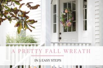 DIY Fall Wreath in 5 Simple Steps