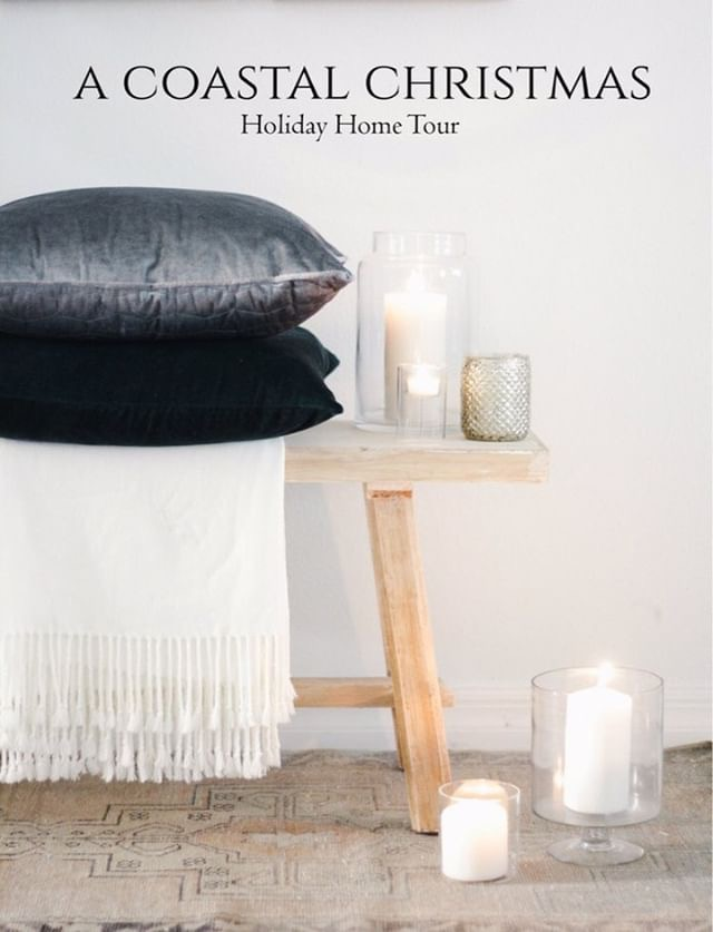 A Coastal Christmas House Tour