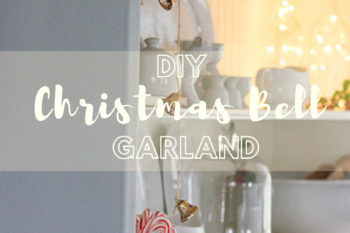 How to Make Vintage Christmas Bell Garland