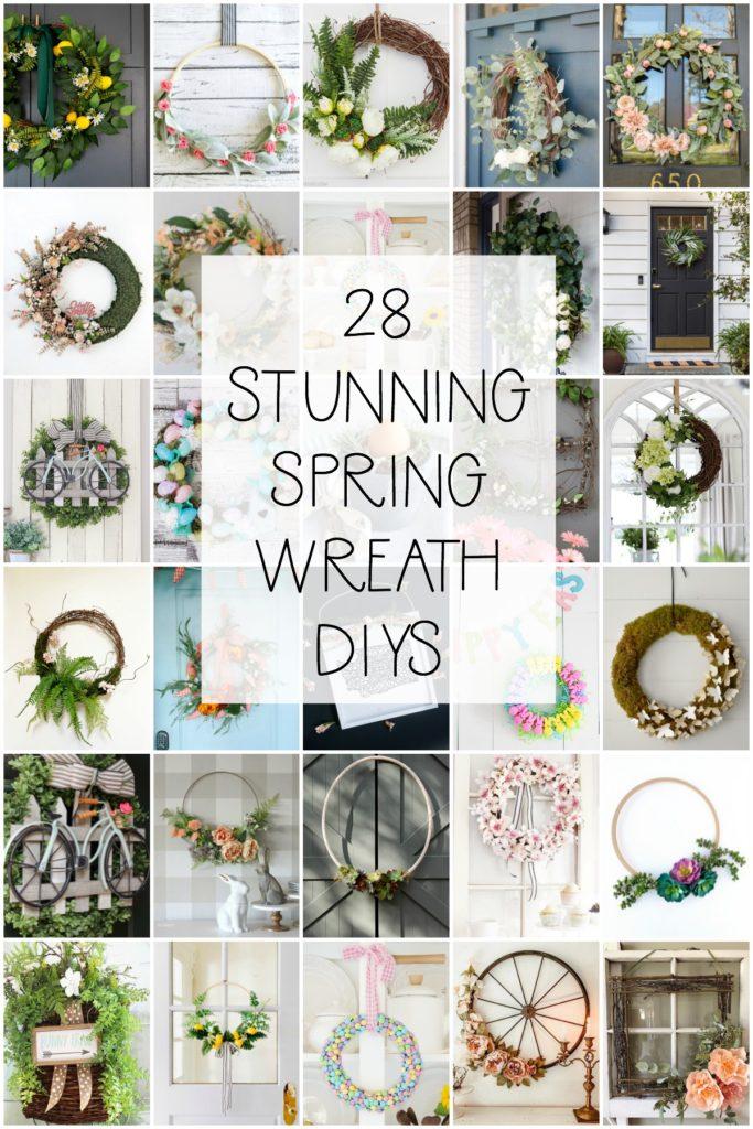 28 stunning spring wreath DIYs seasonal simplicity spring series
