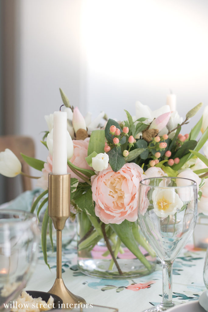 A Tablescape Idea for Spring