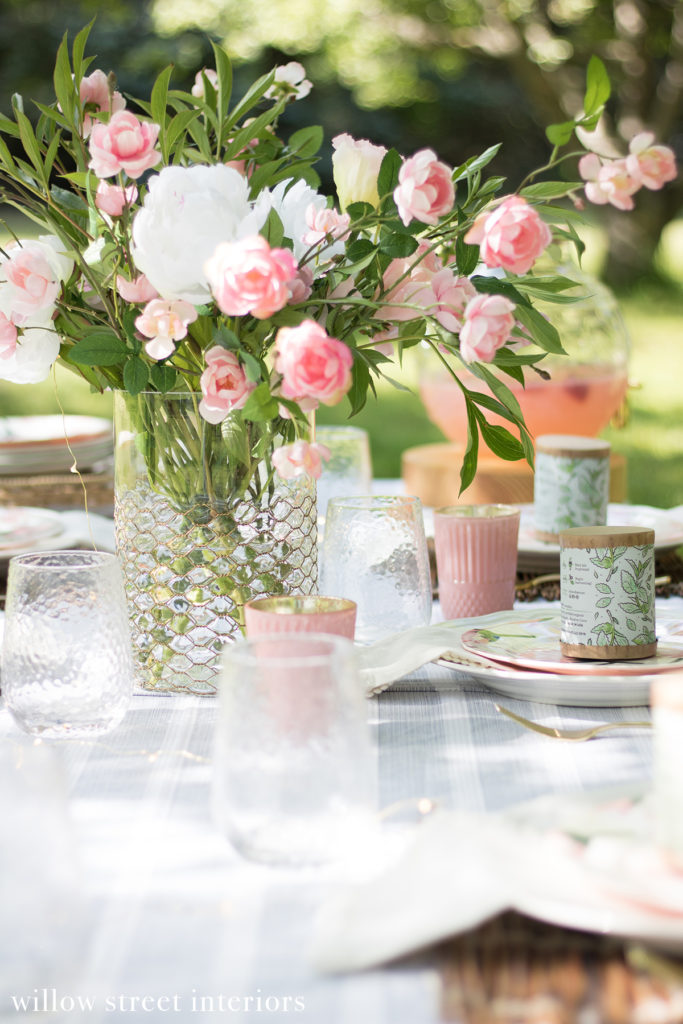 A Summer Tablescape Idea