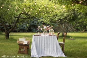 An Alfresco Summer Tablescape Idea